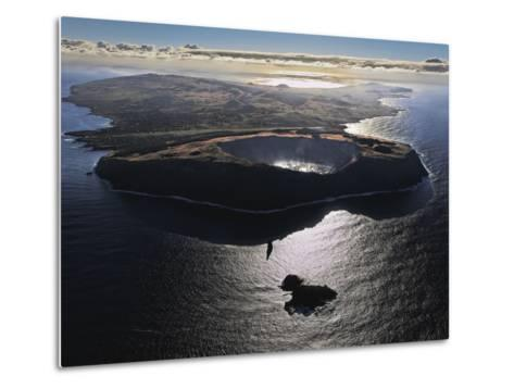 Three Volcanoes, Quiet Now, Formed Easter Island Half a Million Years Ago-Randy Olson-Metal Print