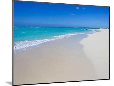 Perfect Paradise White Sand Beaches and the Blue Caribbean Sea-Mike Theiss-Mounted Photographic Print