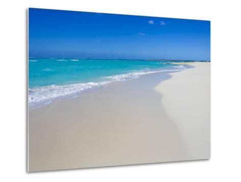 Perfect Paradise White Sand Beaches and the Blue Caribbean Sea-Mike Theiss-Metal Print