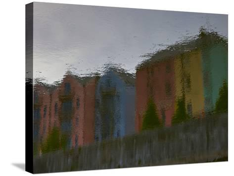 Early Morning Reflections in the North Channel of the Lee River-Kenneth Ginn-Stretched Canvas Print