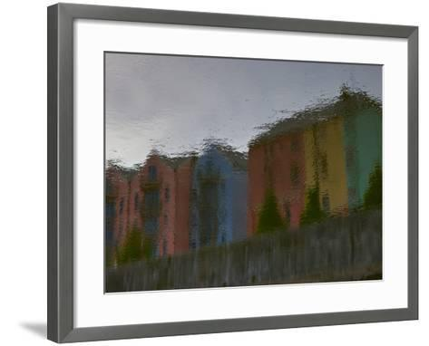 Early Morning Reflections in the North Channel of the Lee River-Kenneth Ginn-Framed Art Print