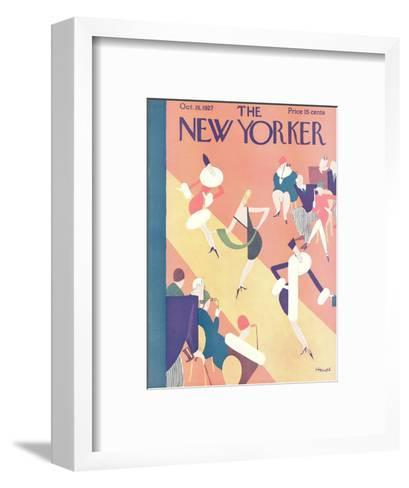 The New Yorker Cover - October 15, 1927-Theodore G. Haupt-Framed Art Print
