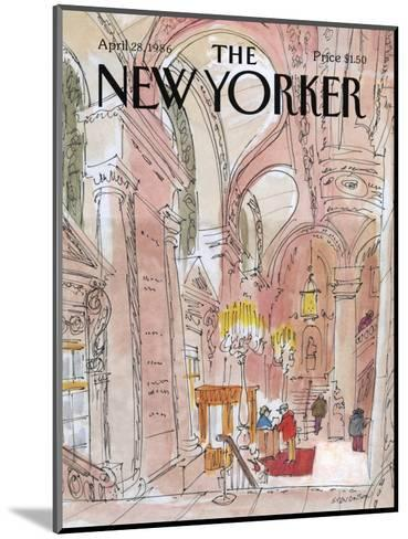 The New Yorker Cover - August 6, 1938-Charles E. Martin-Mounted Premium Giclee Print
