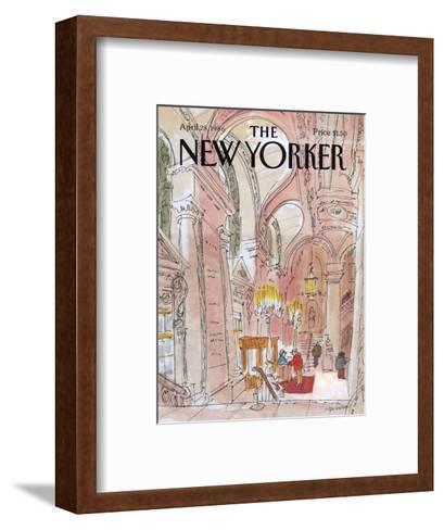 The New Yorker Cover - August 6, 1938-Charles E. Martin-Framed Art Print