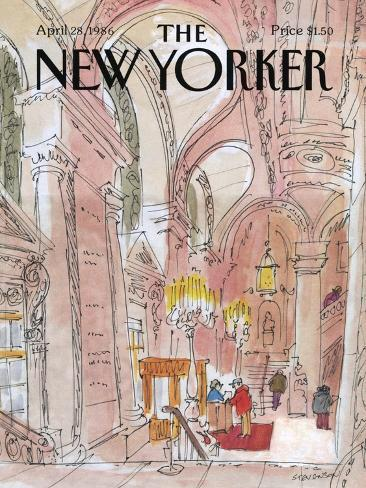 The New Yorker Cover - August 6, 1938-Charles E. Martin-Stretched Canvas Print