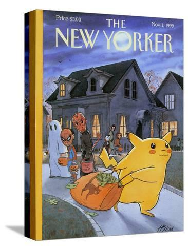 The New Yorker Cover - November 1, 1999-Harry Bliss-Stretched Canvas Print