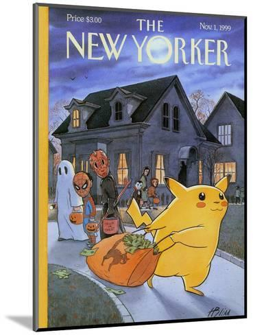 The New Yorker Cover - November 1, 1999-Harry Bliss-Mounted Premium Giclee Print