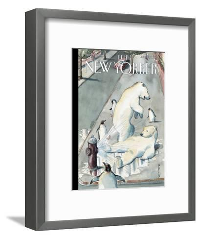 The New Yorker Cover - July 23, 2007-Barry Blitt-Framed Art Print