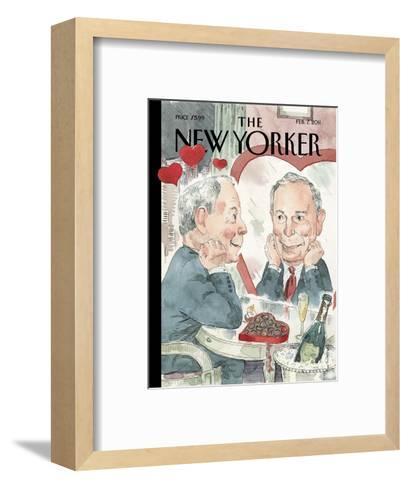 The New Yorker Cover - February 7, 2011-Barry Blitt-Framed Art Print