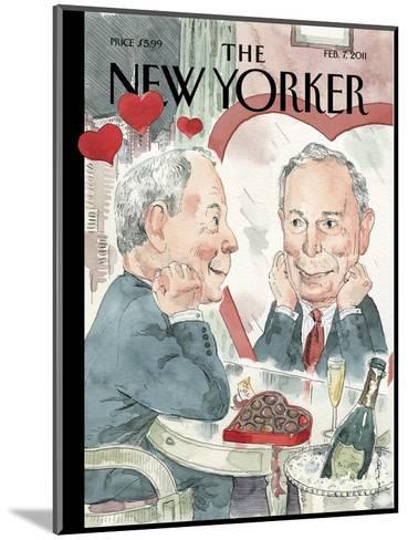 The New Yorker Cover - February 7, 2011-Barry Blitt-Mounted Premium Giclee Print