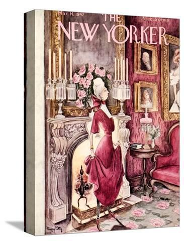 The New Yorker Cover - March 14, 1942-Mary Petty-Stretched Canvas Print