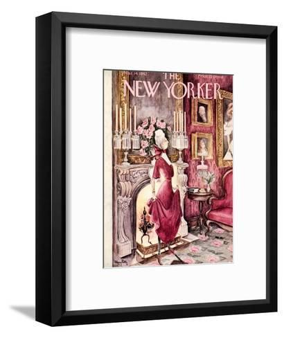The New Yorker Cover - March 14, 1942-Mary Petty-Framed Art Print