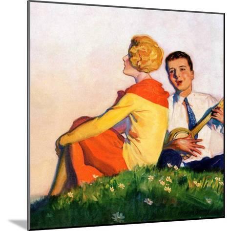 """""""Hillside Serenade,""""May 1, 1928-McClelland Barclay-Mounted Giclee Print"""