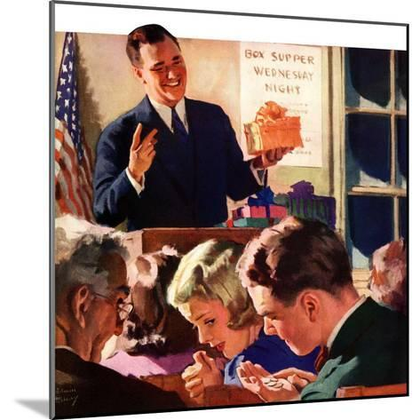 """Box Supper Night,""January 1, 1941--Mounted Giclee Print"