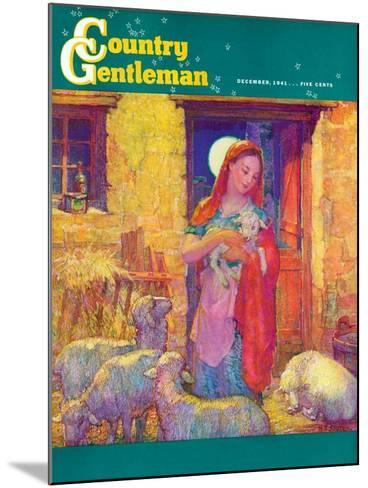 """Sheep in Jerusalem,"" Country Gentleman Cover, December 1, 1941-Henry Soulen-Mounted Giclee Print"