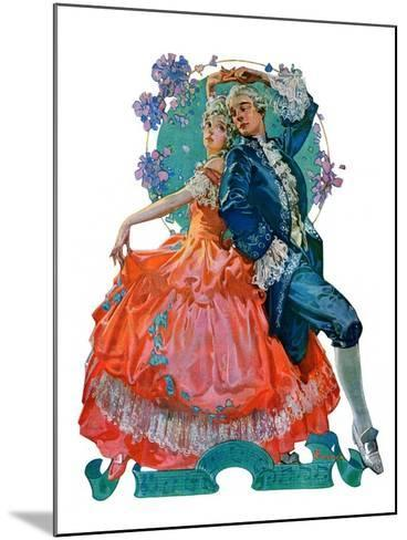 """Dancing Couple,""December 1, 1928-Elbert Mcgran Jackson-Mounted Giclee Print"
