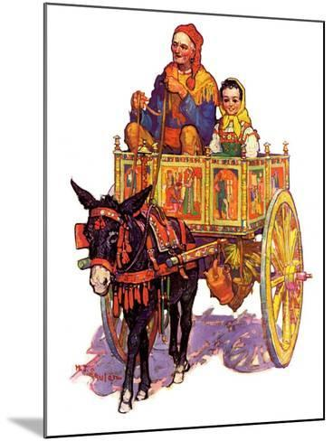"""""""Gypsy Wagon,""""May 2, 1936-Henry Soulen-Mounted Giclee Print"""