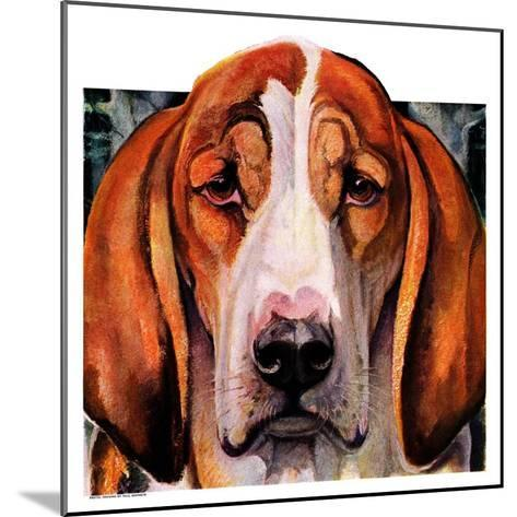"""You Ain't Nothing But a Hounddog,""January 30, 1937-Paul Bransom-Mounted Giclee Print"