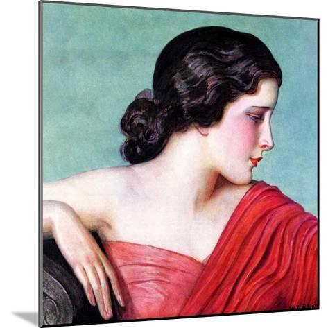 """Exotic Woman,""November 18, 1933-Wladyslaw Benda-Mounted Giclee Print"