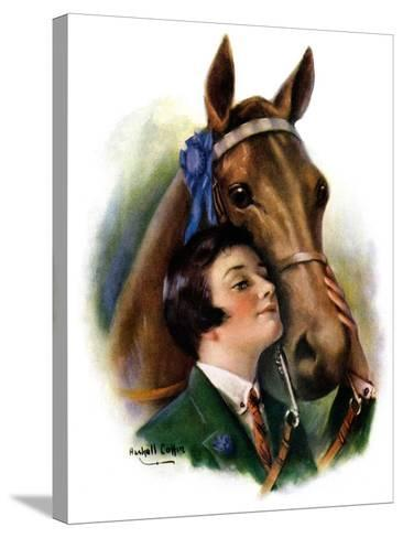 """""""Blue Ribbon Winner,""""March 19, 1927-William Haskell Coffin-Stretched Canvas Print"""