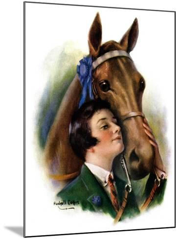 """""""Blue Ribbon Winner,""""March 19, 1927-William Haskell Coffin-Mounted Giclee Print"""