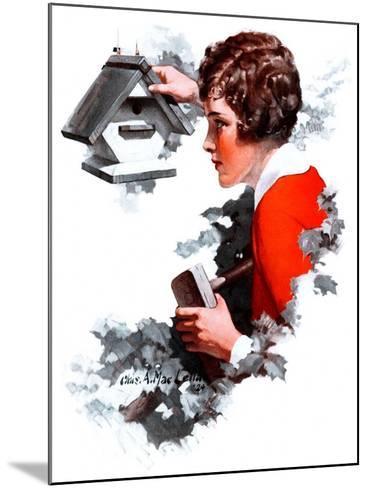 """Birdhouse,""June 21, 1924-Charles A. MacLellan-Mounted Giclee Print"