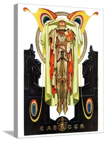 """Easter, 1928,""April 7, 1928-Joseph Christian Leyendecker-Stretched Canvas Print"