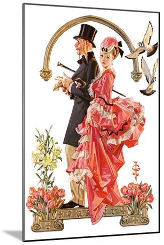 """Easter Promenade,""March 26, 1932-Joseph Christian Leyendecker-Mounted Giclee Print"