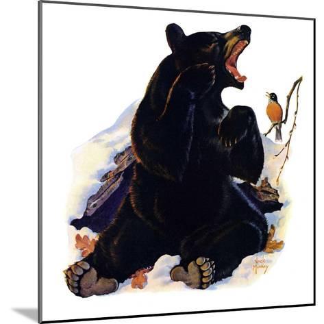 """End of Hibernation,""April 17, 1937-Jack Murray-Mounted Giclee Print"