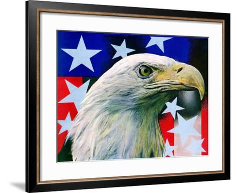 """Sam the American Eagle,""July 1, 1939-Arthur H. Fisher-Framed Art Print"