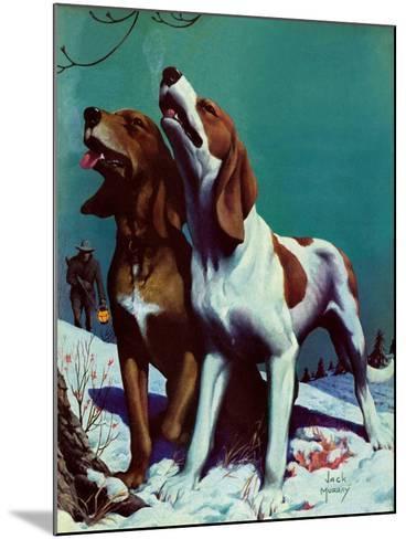 """Hound Dog,""December 9, 1939-Jack Murray-Mounted Giclee Print"