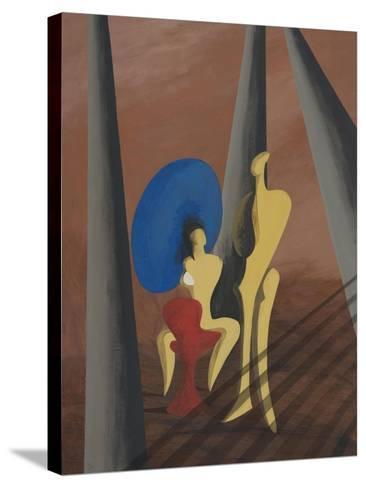 Big Blue-Vaan Manoukian-Stretched Canvas Print