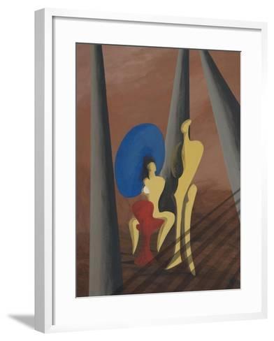 Big Blue-Vaan Manoukian-Framed Art Print