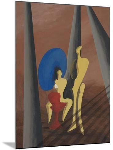 Big Blue-Vaan Manoukian-Mounted Art Print