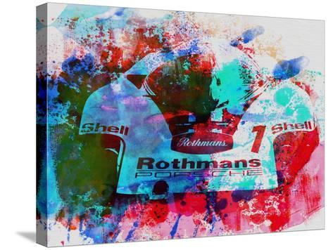 Porsche 917 Rothmans 2-NaxArt-Stretched Canvas Print