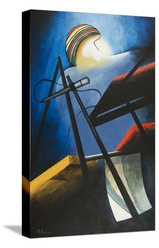 Maestro Zawinul-Vaan Manoukian-Stretched Canvas Print