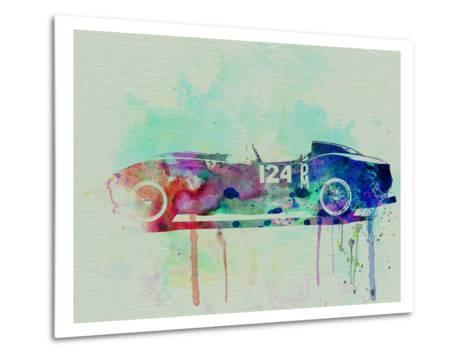 Ferrari Testa Rossa Watercolor 2-NaxArt-Metal Print