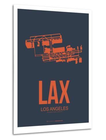 Lax Los Angeles Poster 3-NaxArt-Metal Print