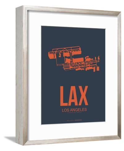 Lax Los Angeles Poster 3-NaxArt-Framed Art Print