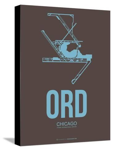 Ord Chicago Poster 2-NaxArt-Stretched Canvas Print