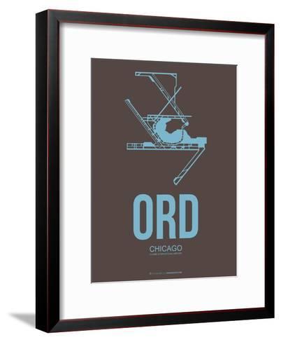 Ord Chicago Poster 2-NaxArt-Framed Art Print