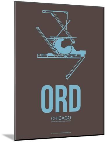 Ord Chicago Poster 2-NaxArt-Mounted Art Print