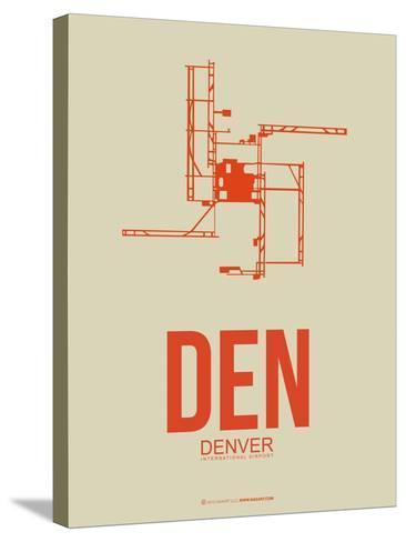 Den Denver  Poster 2-NaxArt-Stretched Canvas Print