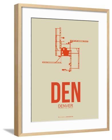 Den Denver  Poster 2-NaxArt-Framed Art Print