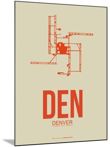 Den Denver  Poster 2-NaxArt-Mounted Art Print