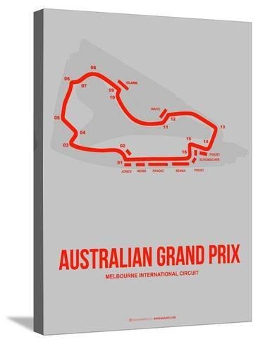 Australian Grand Prix 1-NaxArt-Stretched Canvas Print