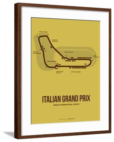 Italian Grand Prix 1-NaxArt-Framed Art Print