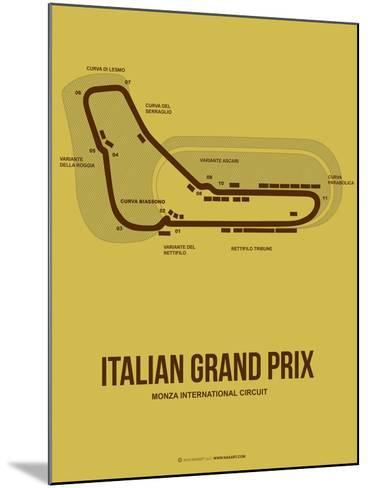 Italian Grand Prix 1-NaxArt-Mounted Art Print