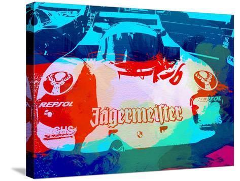 Porsche 956 Jagermeister-NaxArt-Stretched Canvas Print