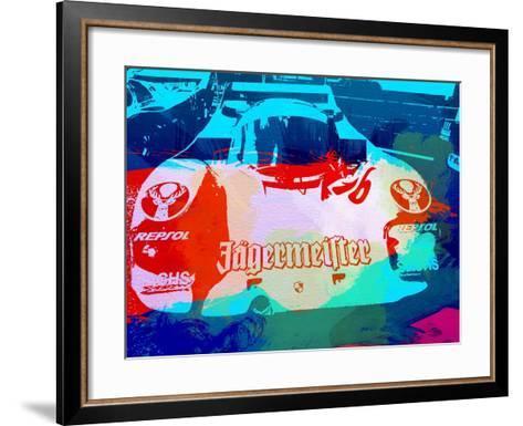 Porsche 956 Jagermeister-NaxArt-Framed Art Print
